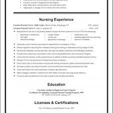 sample resume licensed practical nurse sample resume for entry level licensed practical nurse danaya us