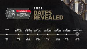 2021 Scotiabank Concacaf Champions League set for April kickoff