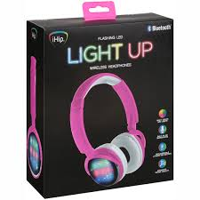 Ihip Color Changing Light Bulb Ihip Bluetooth Flashing Led Light Up Wireless Headphones