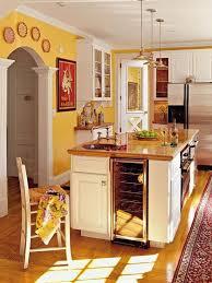 Orange And Yellow Kitchen 15 Bright And Cozy Yellow Kitchen Designs Rilane