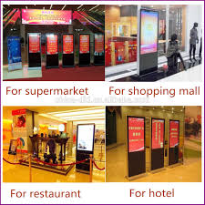 Profesional 65 pulgadas led display hd publicidad de v deo china.