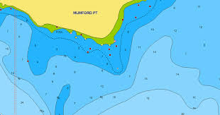 Ocean Depth Chart Nautical Chart