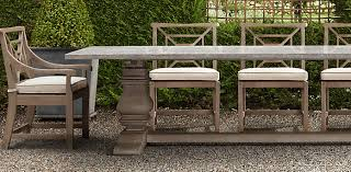 outdoor rectangular dining table. Outdoor Teak Dining Table Cat L Cg Wid 696 Latest Trestle Weathered Rectangular F