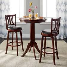 Indoor bars furniture Dining Room Simple Living Mahogany Finish 3piece Anderson Pub Set Goinfurniturecom Buy Bar Pub Table Sets Online At Overstockcom Our Best Dining