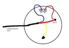 simple alternator wire diagram for chrysler 1 dodge alternator simple alternator