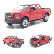 New 1:32 Scale 2017 Ford F150 pickup Diecast Car Model With Pull ...