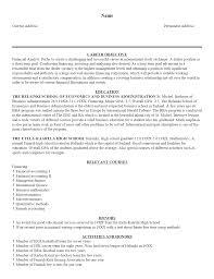 Cv Examples Free Filename Heegan Times