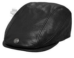 harley davidson mens 115th anniversary eagle black leather ivy cap 99417 18vm small at men s clothing