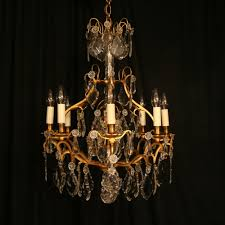 a french gilded birdcage antique chandelier