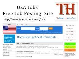 Job Posting Site Usa Jobs Free Job Posting In Usa