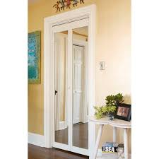 Traditional Unfinished Mirror Bi-fold Doors - Free Shipping Today -  Overstock.com - 14105064