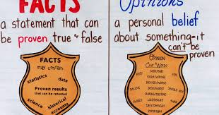 Fact Vs Opinion Anchor Chart Facts And Opinions An Interactive Anchor Chart Crafting