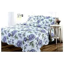 california king bed cover 3 piece queen king cal king purple white green fl contemporary