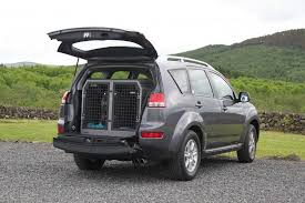 transk9 b7 dog cage fitted to citroen c crosser 2007 2016