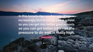 "School Of Rock Quotes Amazing Stephen R Covey Quote ""In This Knowledgeworker Age It's Now"