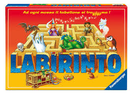 Gioco Da Tavolo Giallo : Ravensburger italy labirinto magico giochi e