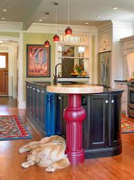 colorful kitchen ideas. Amusing Colorful Kitchen Ideas Simple Modern Colored Koitchen With Picture On Wall A Faucets And Lamps K