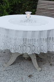 vinyl lace round tablecloth