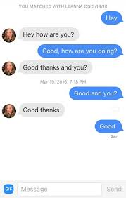 online dating advice first message on tinder