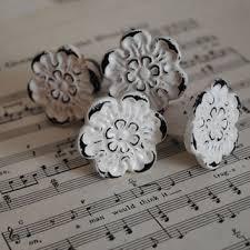 drawer pulls for white dresser. white/vintage dresser knobs / drawer pulls chippy knobs/cottage chic/ for white a