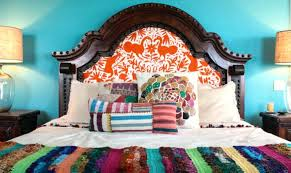 mexican style bedding style a rich turquoise wall works perfectly with layers of striped bedding and mexican style bedding