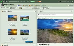 Amateur photo site uploading