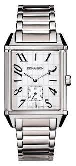 Купить Наручные <b>часы ROMANSON TM7237MW</b>(WH) в интернет ...