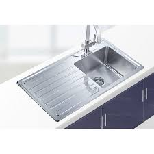 practical single bowl kitchen sink with drainboard for kitchen