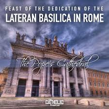 Image result for the dedication of the lateran basilica
