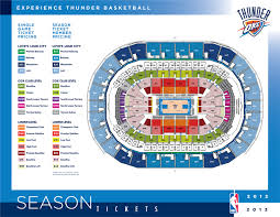 Oklahoma City Thunder Arena Seating Chart Okc Thunder Arena Seats Related Keywords Suggestions Okc