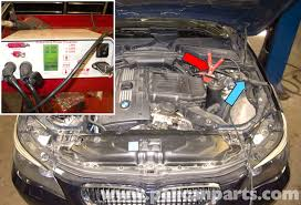 bmw e60 5 series water pump testing pelican parts technical article large image