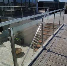 stainless steel glass clamp for railing for panels x31100000