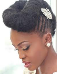 Coiffure Afro Mariage Hiver 2015 Coiffures Afro Les Filles