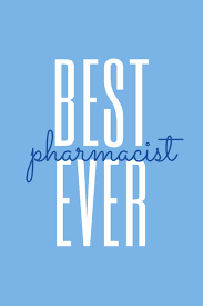 Light Blue Quotes Best Pharmacist Ever Light Blue White College Rule Lined