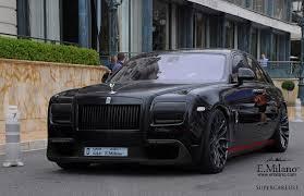 Custom Rolls Royce Rolls Royce Nero Calabrone Milano Custom