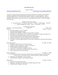 Brilliant Advertising Account Executive Resume For Notable Career