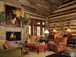 Living Room Rustic Decorating Living Room Classic Rustic Living Room Decor With Antique Black