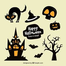 Halloween vectors, +44,000 free files in .AI, .EPS format