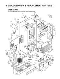 lg refrigerator parts diagram. section 1 parts for lg refrigerator lrfc25750st / astclga from appliancepartspros.com lg diagram