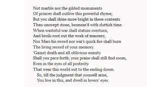 analysis of sonnet by william shakespeare owlcation sonnet 55