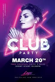 Club Party Flyer Templates Psd