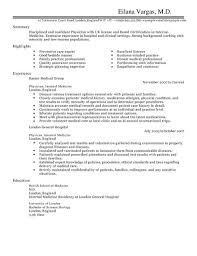 doctor cv example for healthcare livecareer resume format for doctor