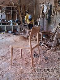 the craftsman and the chair by jepara goods woodworking studio furniture indonesia teakfurniture retrochair teakchair scandinavianchair