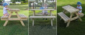 Childrens Picnic Table White Umbrella  How To Build Childrens Childrens Outdoor Furniture With Umbrella