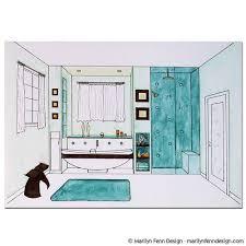 bathroom interior design sketches. Home Design Idea Bathroom Designs Drawings Interior Sketches E