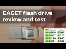 <b>EAGET</b> USB3 & <b>USB</b>-C <b>flash drive</b> review - YouTube