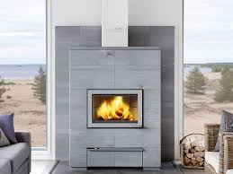 contemporary soapstone fireplace