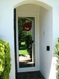 recessed entrance door reflecting the garden rehauproduct entrance doors energy efficiency gates