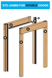 door jamb. You Will Be Asked To Specify Which Require When Ordering Your Single Pocket Door Frame. Jamb