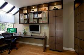 home office cabinet design ideas. View In Gallery Home Office Design With Corner Desk And Stylish Cabinets Intended Cabinet Ideas